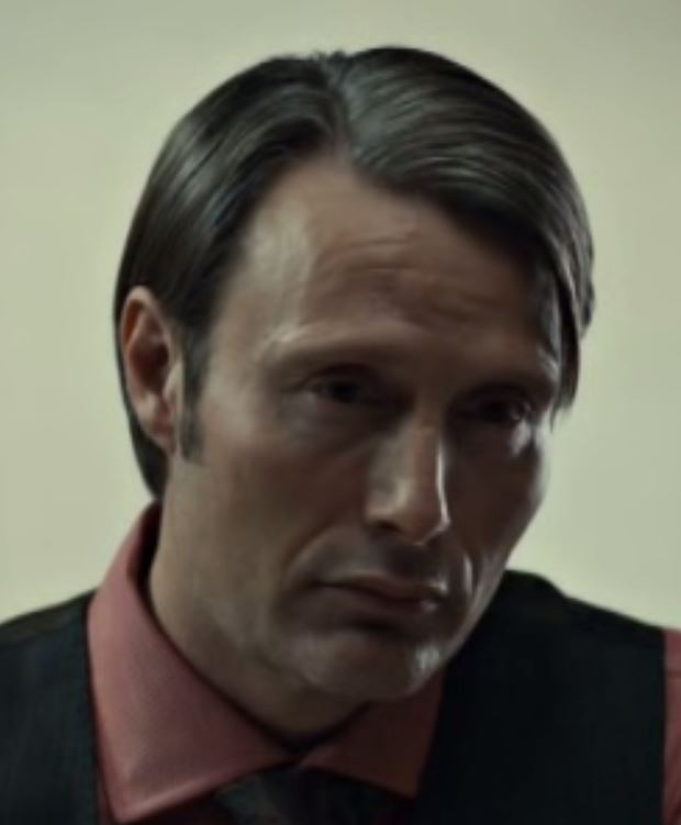 Hannibal looks at Annabelle