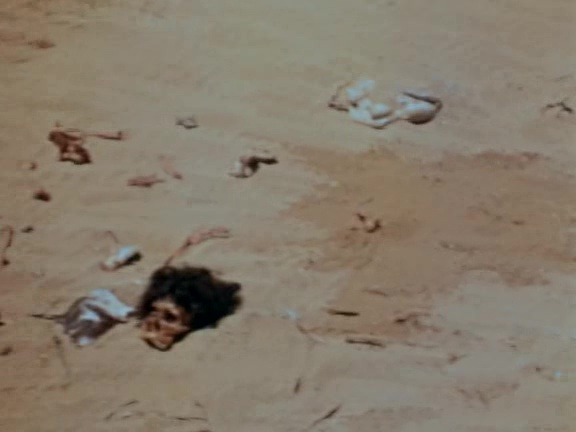 Cannibal feast Robinson Crusoe 1954