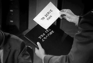 to serve man